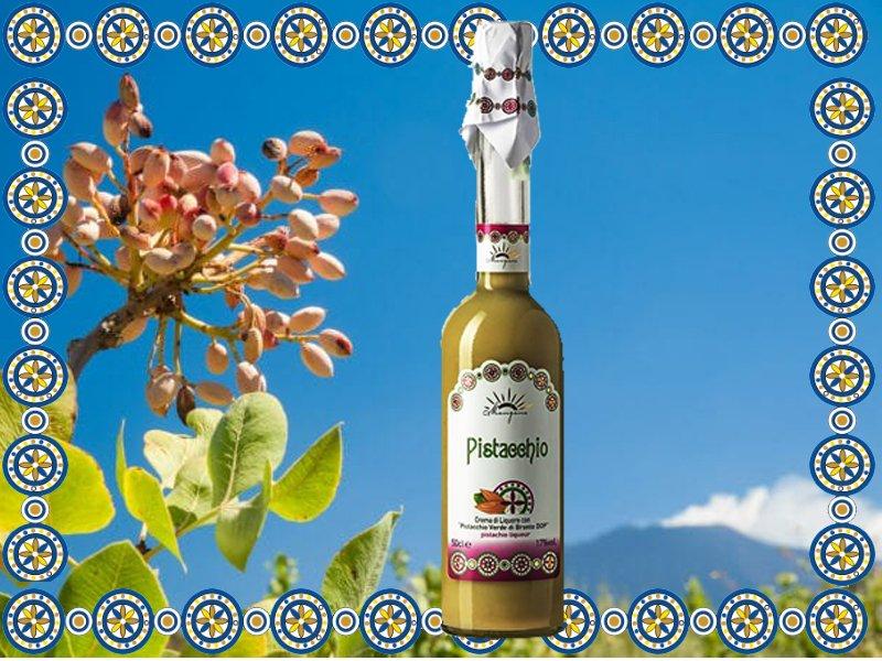 Liquore al Pistacchio di Bronte DOP Mangano