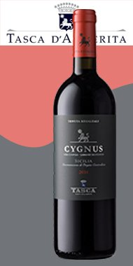"Sicilia DOC ""Cygnus"" 2016 Regaleali, Tasca d'Almerita"