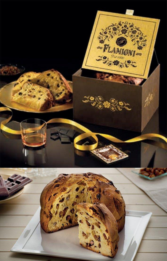 Panettone Rhum e Cioccolato Flamigni