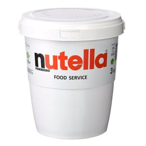 Nutella Ferrero Vaso da 3 Kg