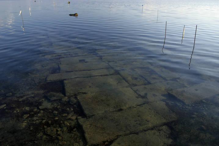 La strada subacquea di Mozia