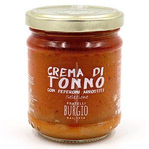 Crema di Tonno con Peperoni arrostiti fratelli Burgio Siracusa