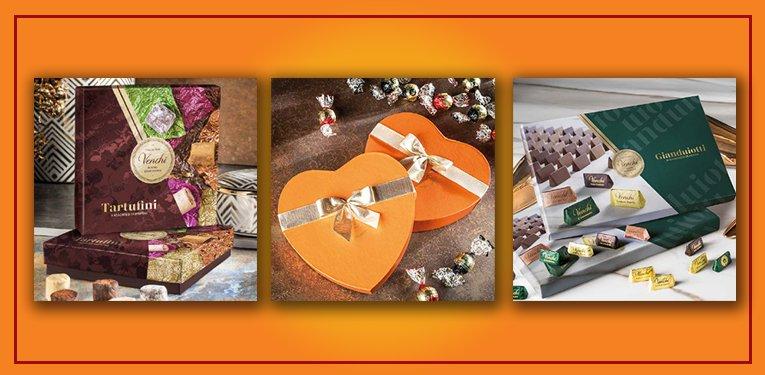 Assortimenti misti cioccolatini Venchi