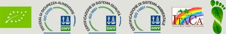 Certificazioni ISO e Bio