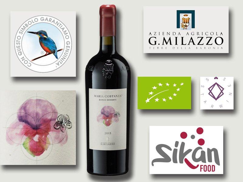 L'entusiasmante Cru Siciliano della Milazzo: Maria Costanza Rosso Riserva 2013 DOP