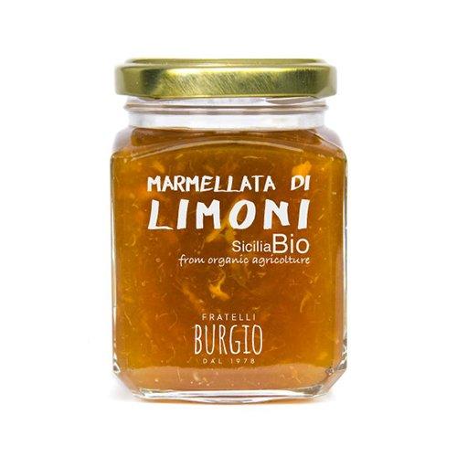 Marmellata di Limone Bio fratelli Burgio Siracusa