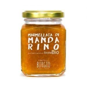 Marmellata di Mandarino Bio fratelli Burgio Siracusa