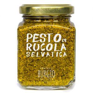 Pesto di Rucola Selvatica fratelli Burgio Siracusa