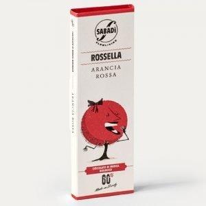 """Cioccolato di Modica all'arancia IGP bio """"Rossella"""" Sabadì"""