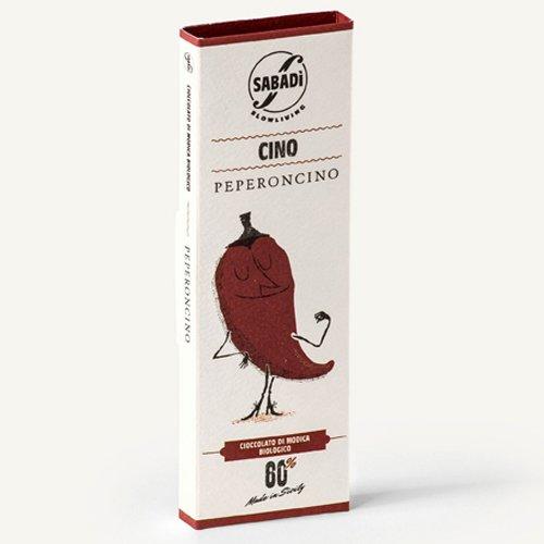 "Cioccolato di Modica al peperoncino IGP bio ""Cino"" Sabadì"