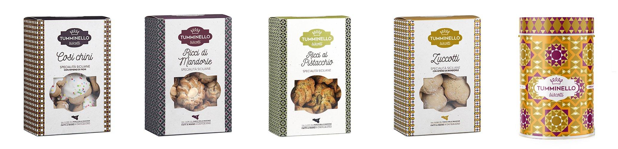 Assortimento Biscotti Siciliani Tumminello