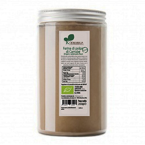 Farina di Polpa di Carrube Bio Ciokarrua