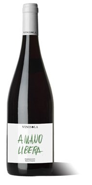 """Amanolibera"" Pantelleria DOP Zibibbo Bianco Frizzante Vinisola"