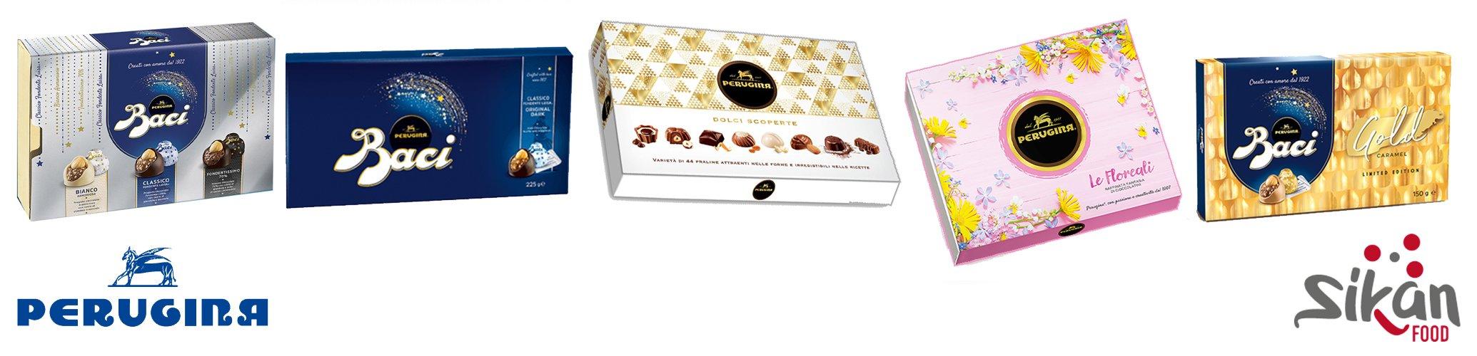 Assortimento Cioccolattini San Valentino Baci Perugina
