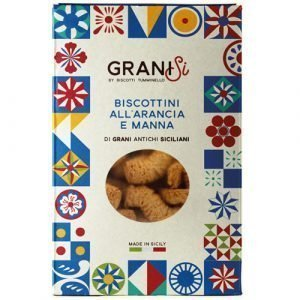 Biscottini all'Arancia e Manna Tumminello 210g