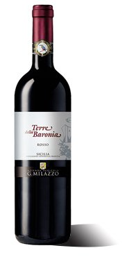 """Sicilia DOP Bio """"Terre della Baronia"""" Rosso 2015 Milazzo"""