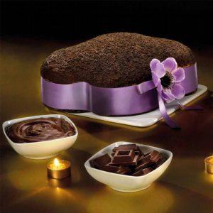 Colomba farcita con Crema al Cacao Extra Fondente Flamigni 950g