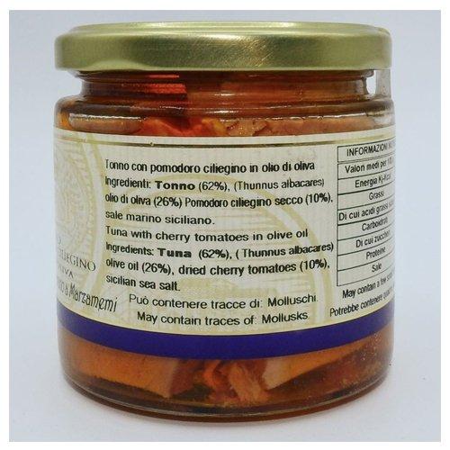 Tonno con Pomodorino Campisi Ingredienti